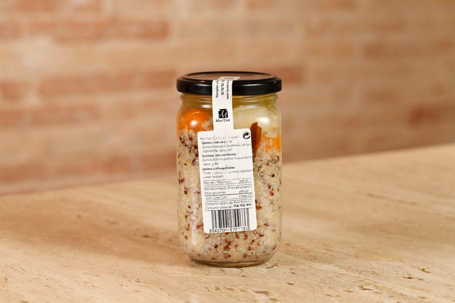Quinoa con verduras 340gr