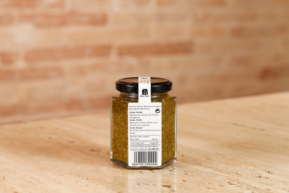 Salsa verde 180gr
