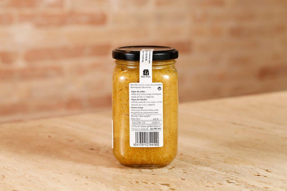 Sopa de cebolla 340gr